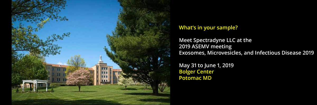 Meet Spectradyne at the Exosomes ASEMV 2019 meeting